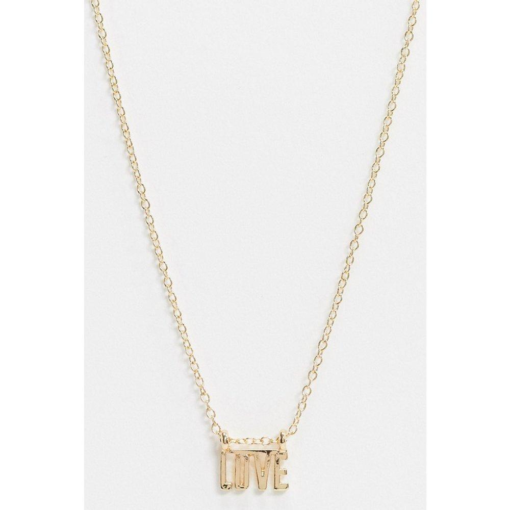 Love - Collier en plaqué or - Saint Lola - Modalova