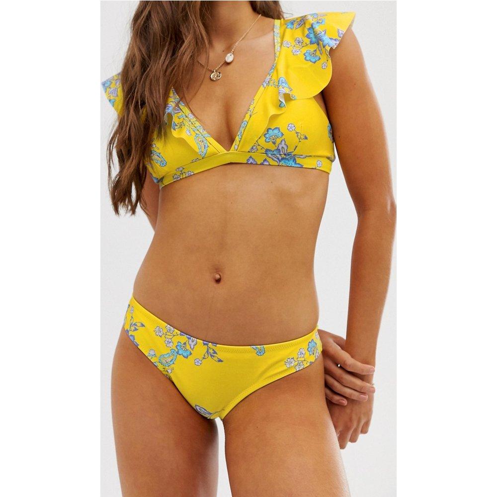 Bas de bikini à fleurs - Sam Edelman - Modalova