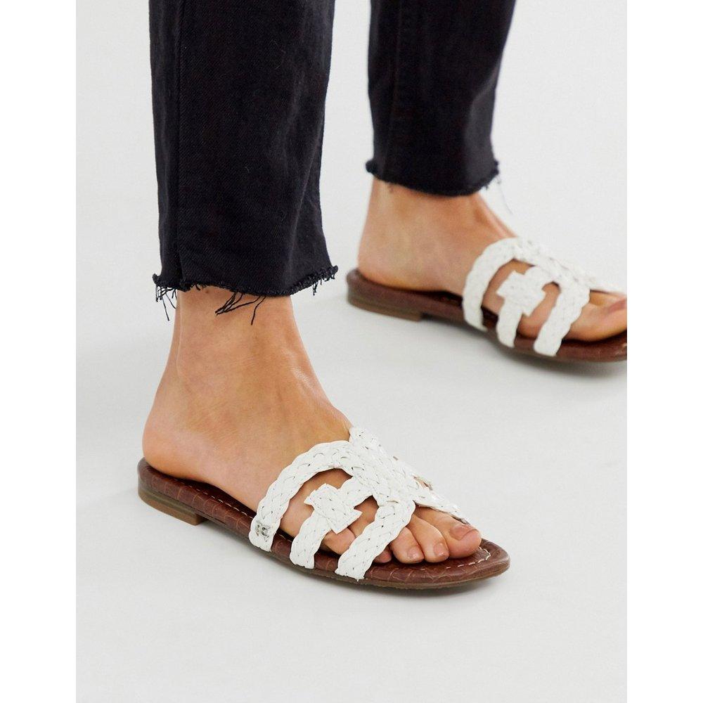 Sandales plates style mules à brides tresséees croisées - Sam Edelman - Modalova