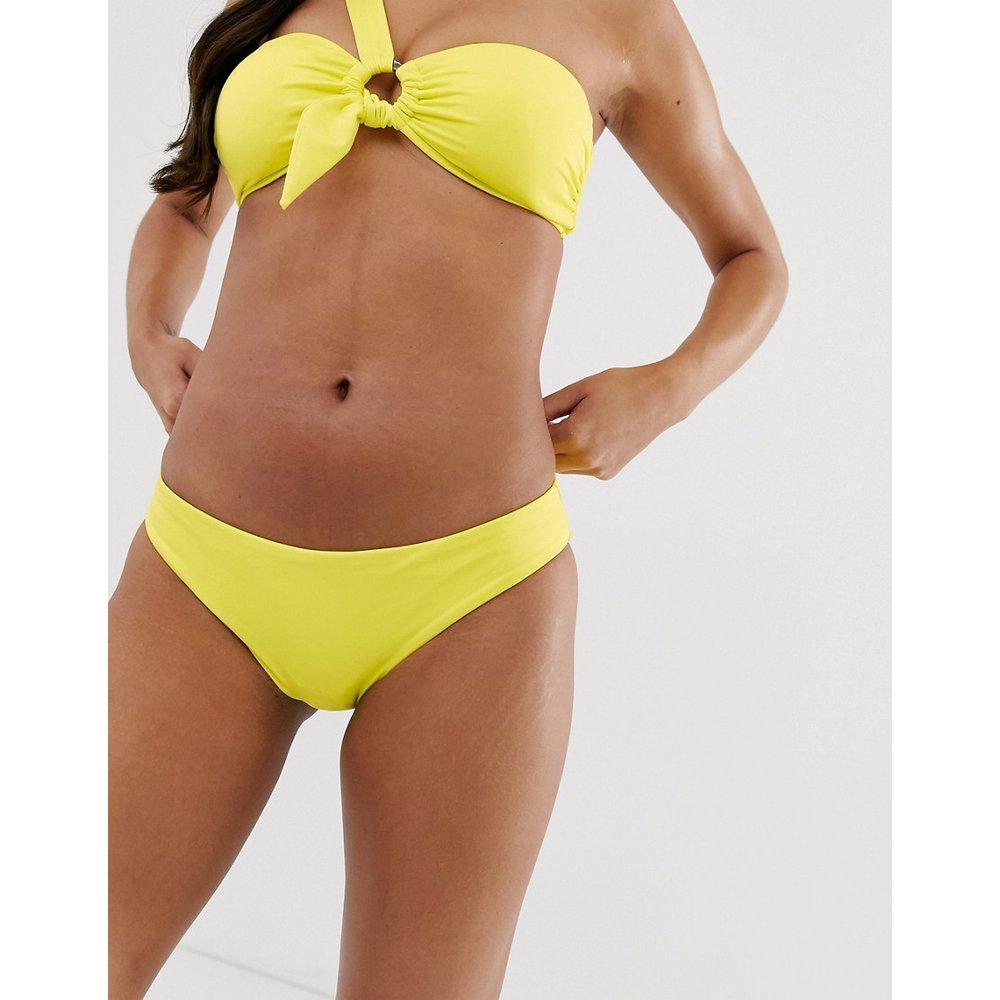 Bas de bikini taille basse classique - Citron fluo - Seafolly - Modalova