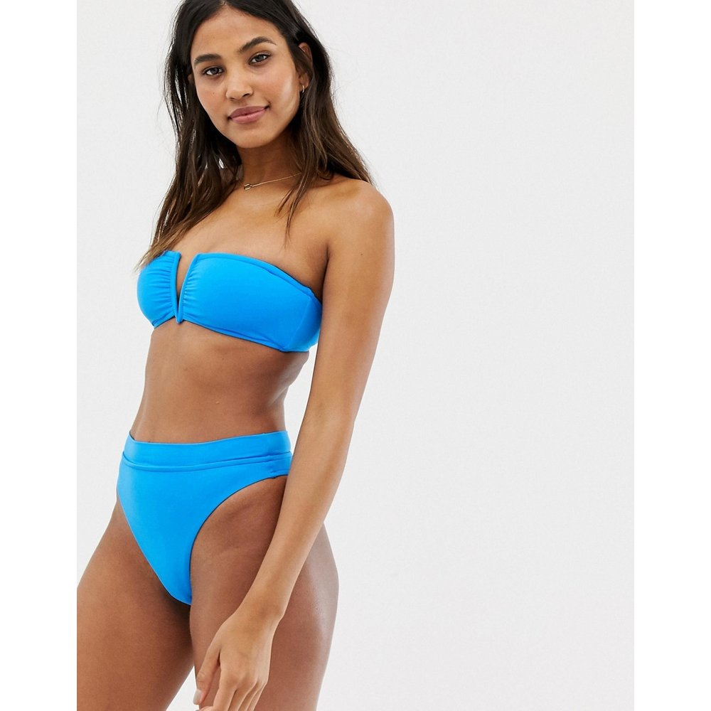 Bas de bikini taille haute - électrique - Seafolly - Modalova