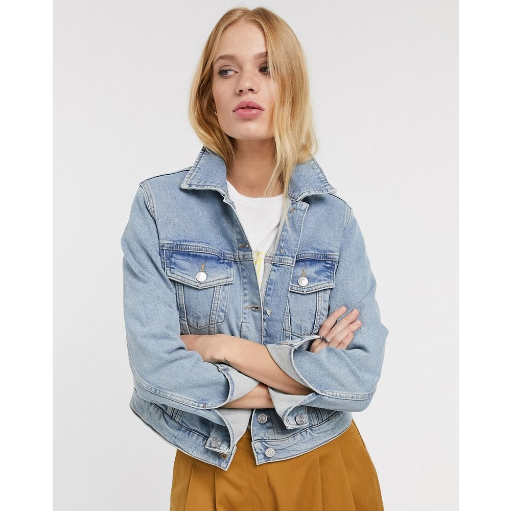 Bair - Veste en jean courte - Selected - Modalova
