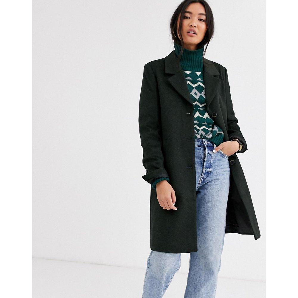 Manteau ajusté boutonné - Selected - Modalova