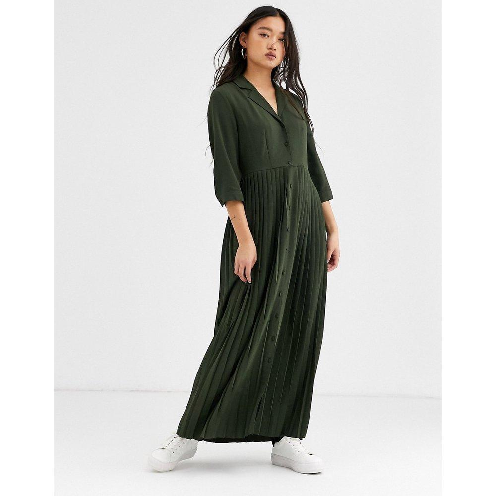 Robe longue plissée - Selected - Modalova