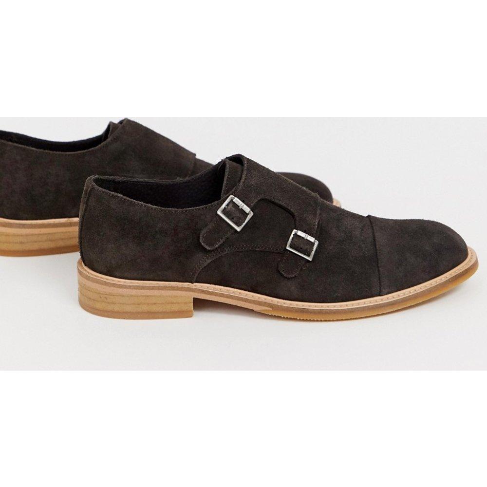 Chaussures derby en daim - Selected Homme - Modalova