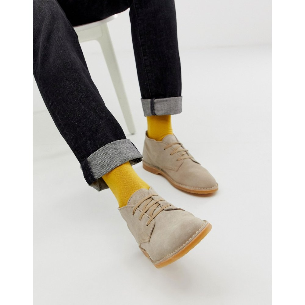 Desert boots en daim - Selected Homme - Modalova