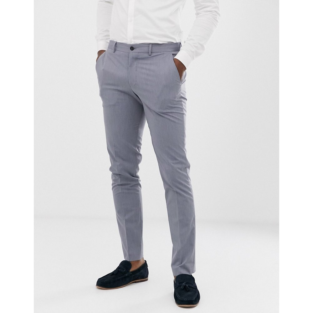 Pantalon de costume slim - clair - Selected Homme - Modalova
