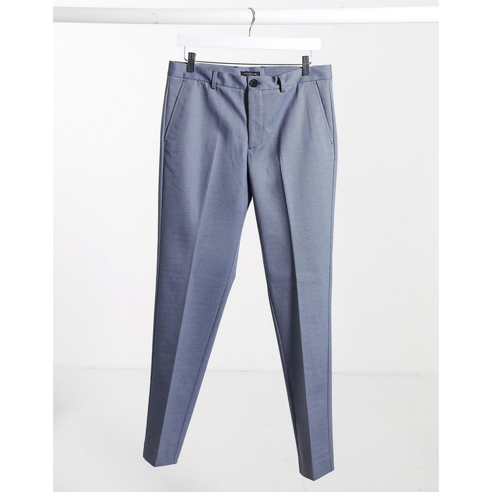 Pantalon slim à carreaux - clair - Selected Homme - Modalova