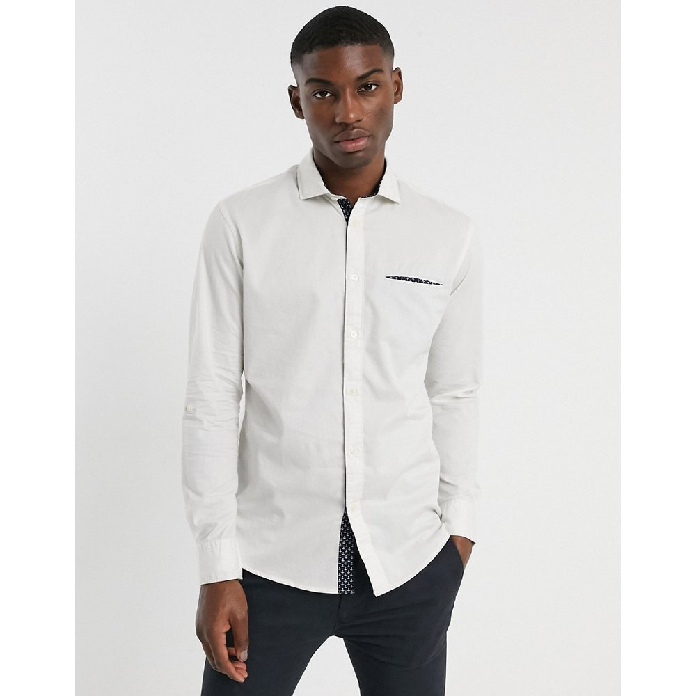 Salford - Chemise slim à manches longues - Selected Homme - Modalova