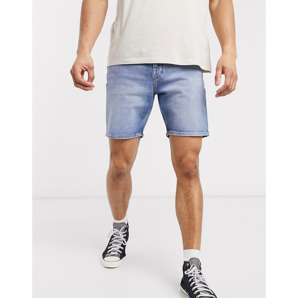 Short en jean - clair - Selected Homme - Modalova