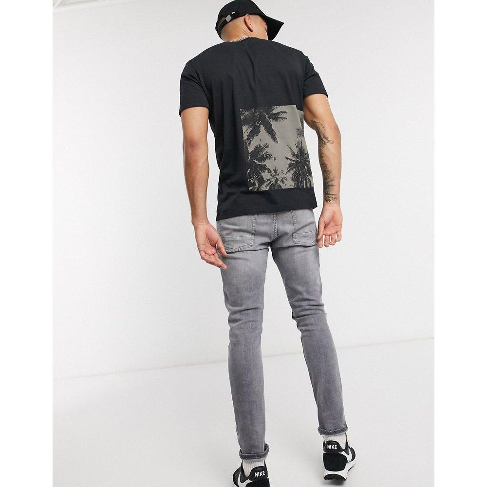 T-shirt avec imprimé au dos - Selected Homme - Modalova