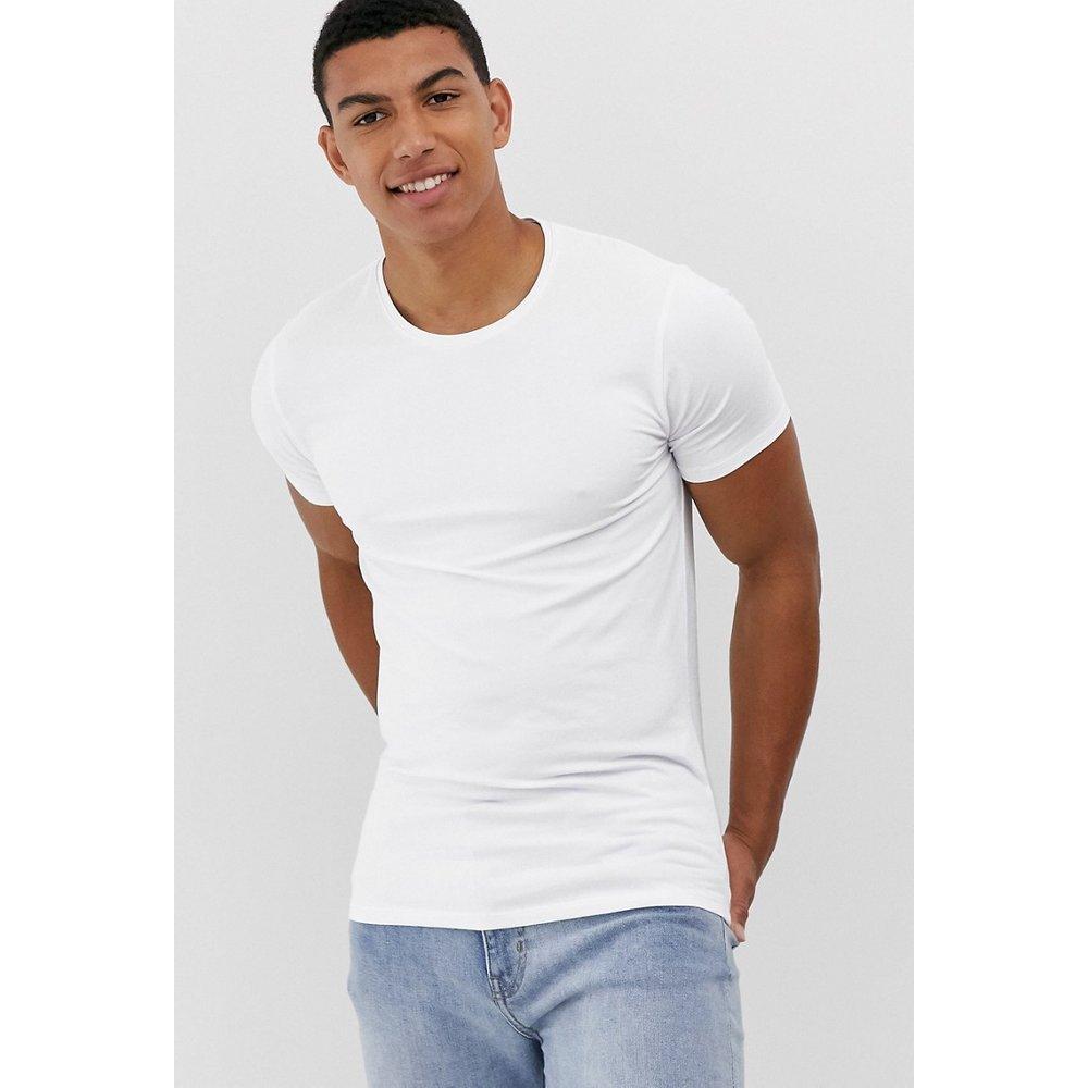 T-shirt confort moulant - Selected Homme - Modalova
