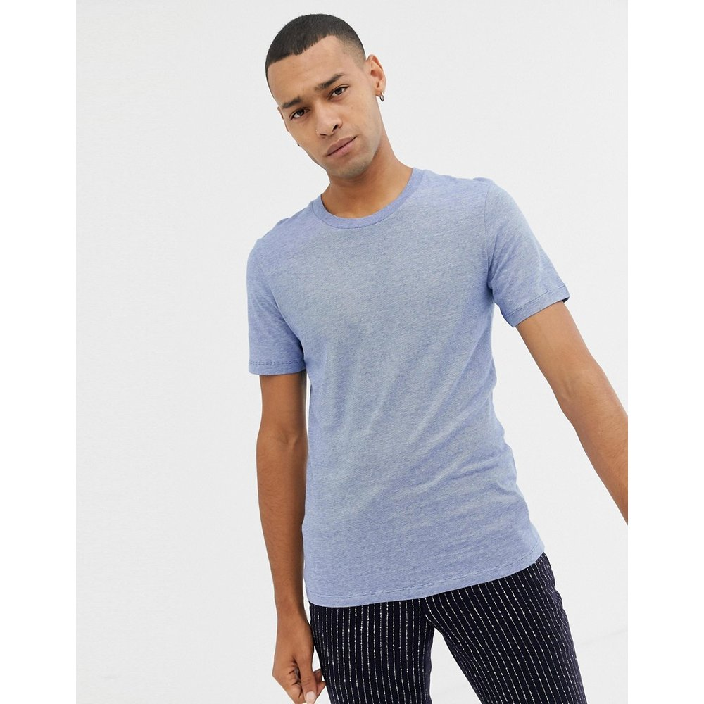 T-shirt effet chiné - Selected Homme - Modalova