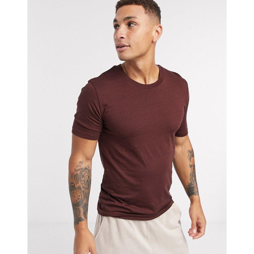 The Perfect Tee - T-shirt - Bordeaux - Selected Homme - Modalova