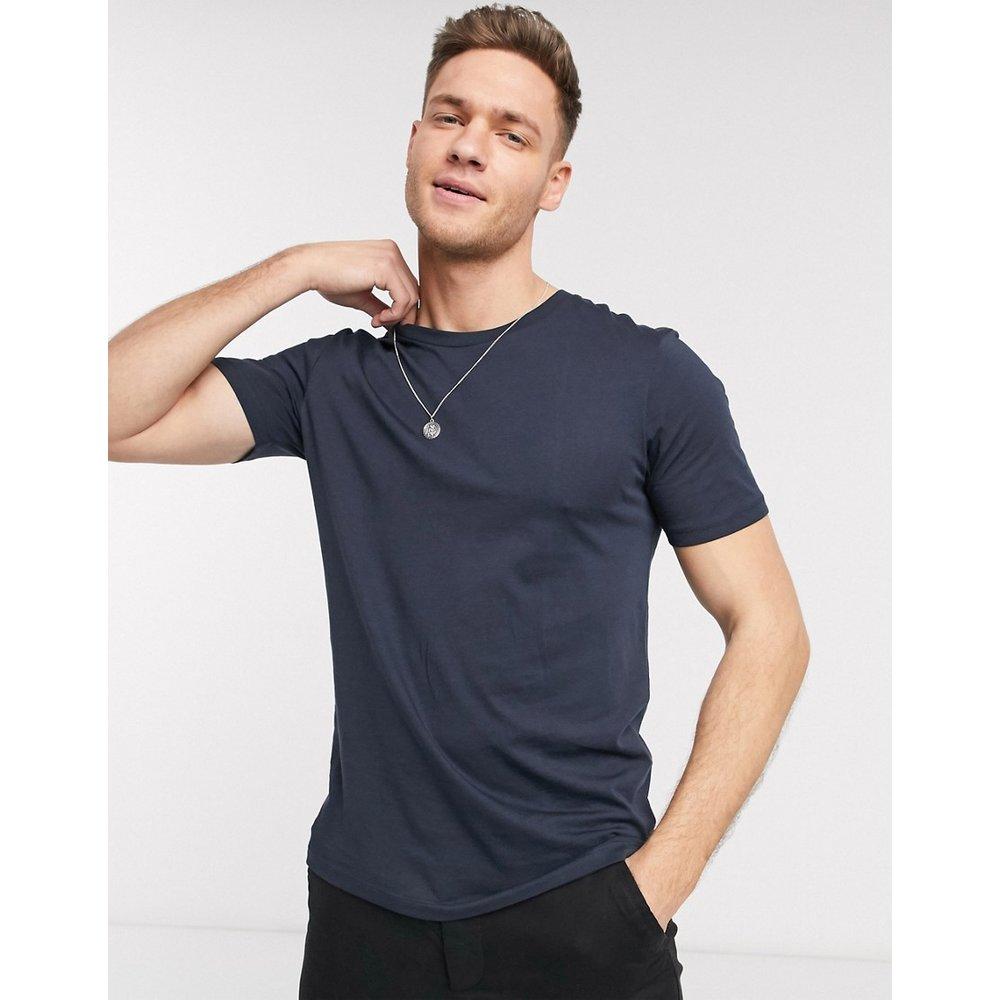 The Perfect Tee' - T-shirt en coton pima - Bleu marine - Selected Homme - Modalova