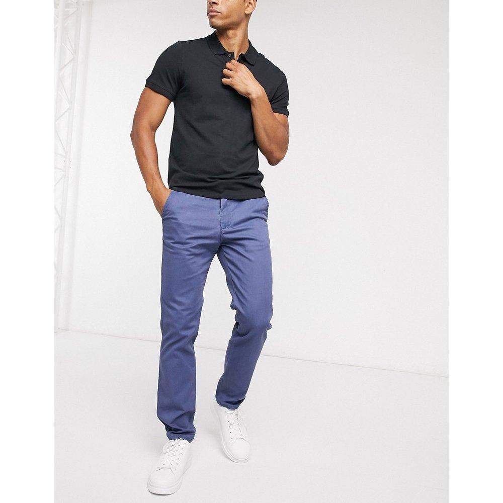 Yard - Pantalon slim en sergé - Selected Homme - Modalova