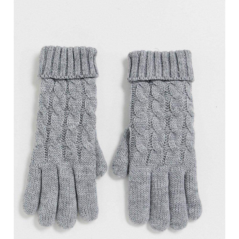 Exclusivité - Gants en maille torsadée - Stitch & Pieces - Modalova