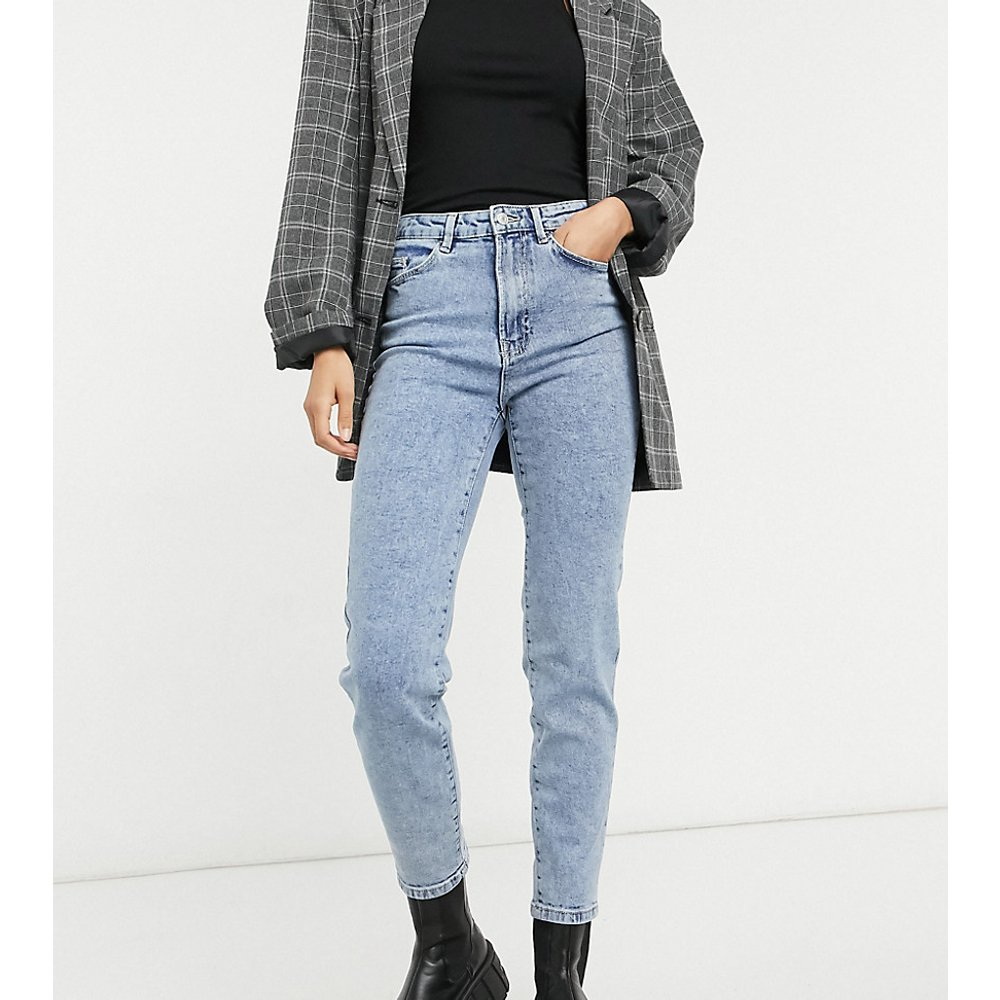 Tall - Jean mom slim stretch - Stradivarius - Modalova