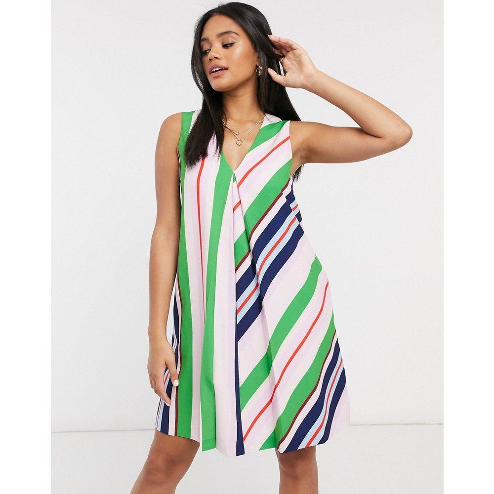 - Creativ- Robe courte style tunique à rayures - Multicolore - Ted Baker - Modalova