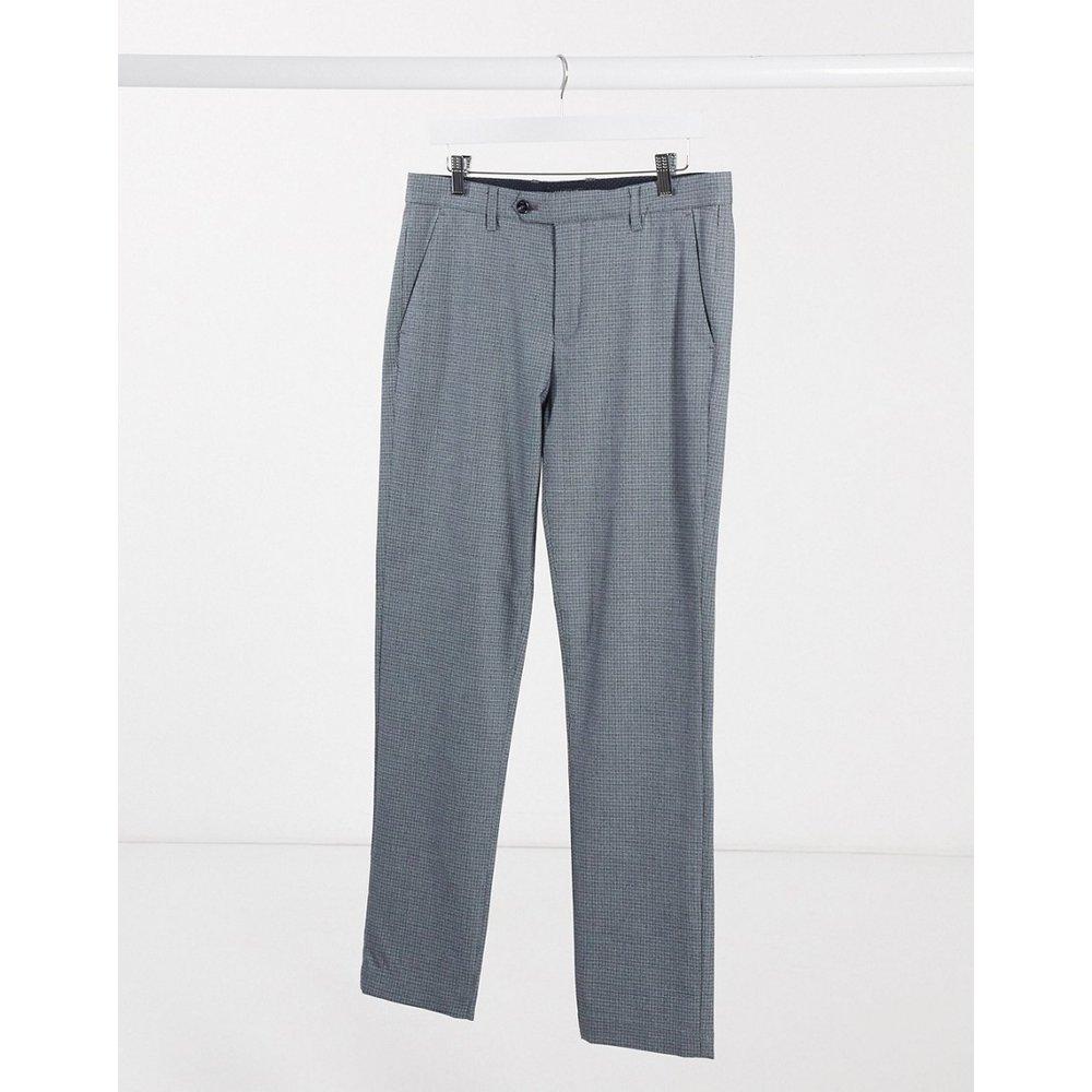 Pantalon slim à carreaux - Gris - Ted Baker - Modalova