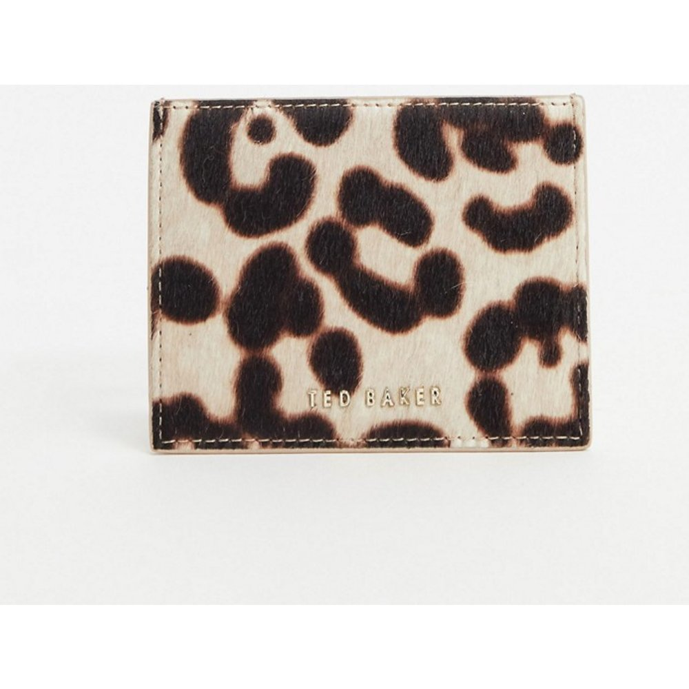 Porte-cartes imprimé léopard - Ted Baker - Modalova
