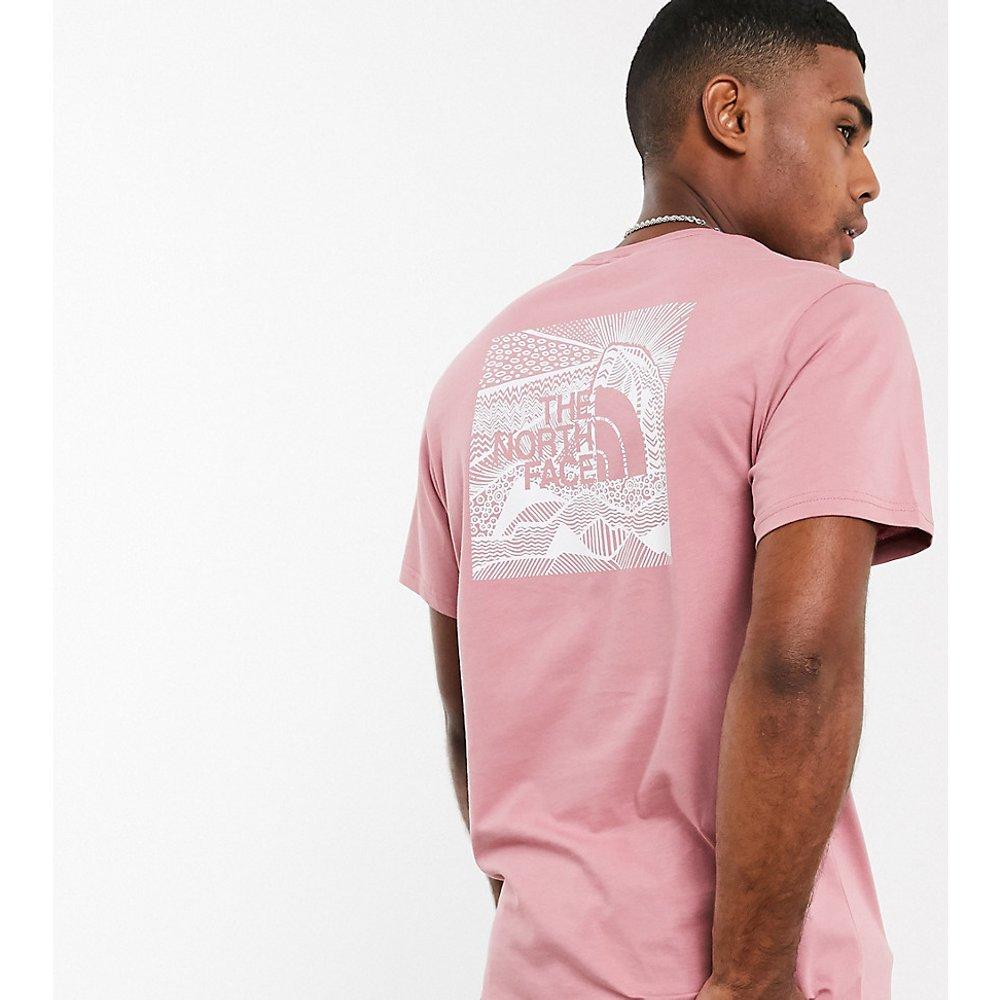 Red Box Celebration - T-shirt - - En exclusivité chez ASOS - The North Face - Modalova
