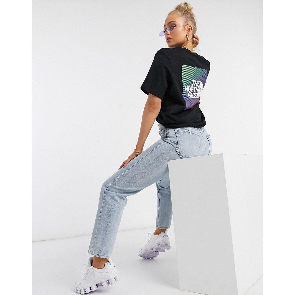 T-shirt avec motif effet dégradé dans le dos - The North Face - Modalova