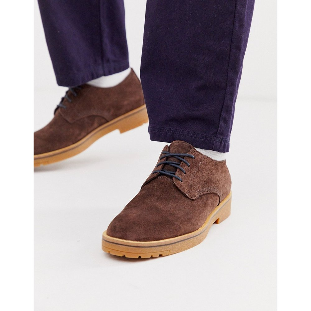 Chaussures à lacets en daim - Timberland - Modalova