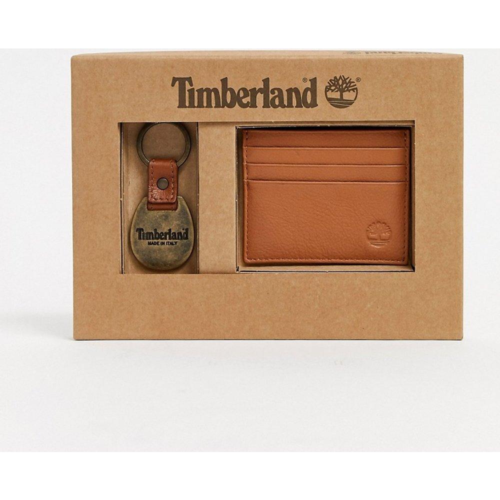 Coffret-cadeau porte-cartes et porte-clés - Fauve - Timberland - Modalova
