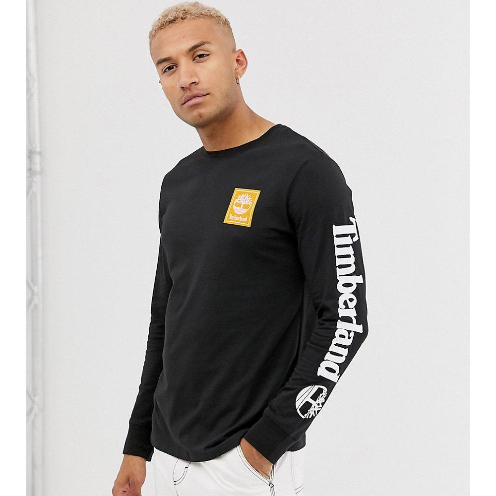 Exclusivité - T-shirt manches longue avec logo sur le bras - Timberland - Modalova