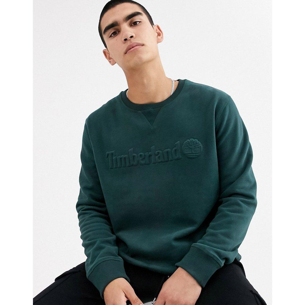 Sweat-shirt ras de cou avec logo - Timberland - Modalova