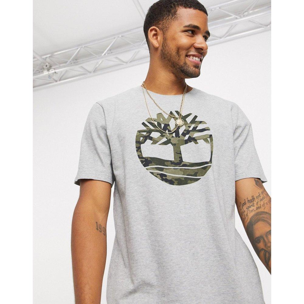 T-shirt à imprimé arbre motif camoufflage - Timberland - Modalova