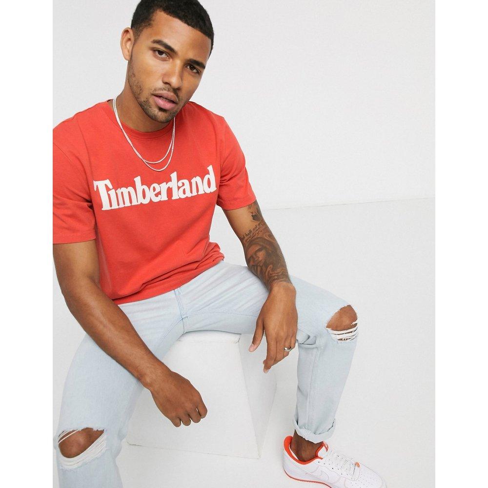 T-shirt à logo linéaire - Timberland - Modalova