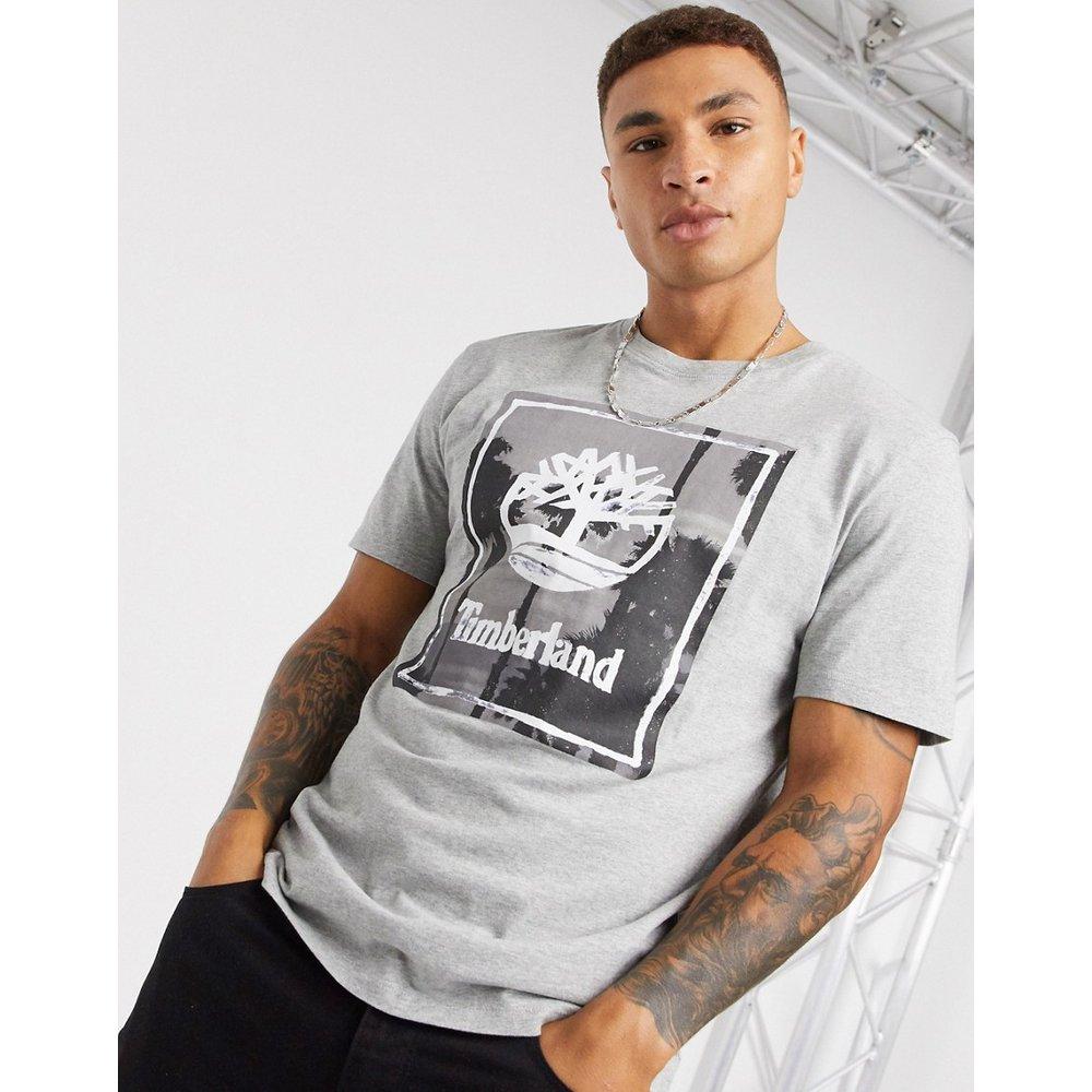T-shirt de plage à imprimé photo - Timberland - Modalova