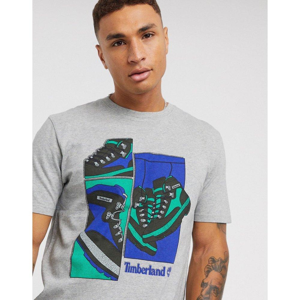 T-shirt imprimé chaussures - Timberland - Modalova