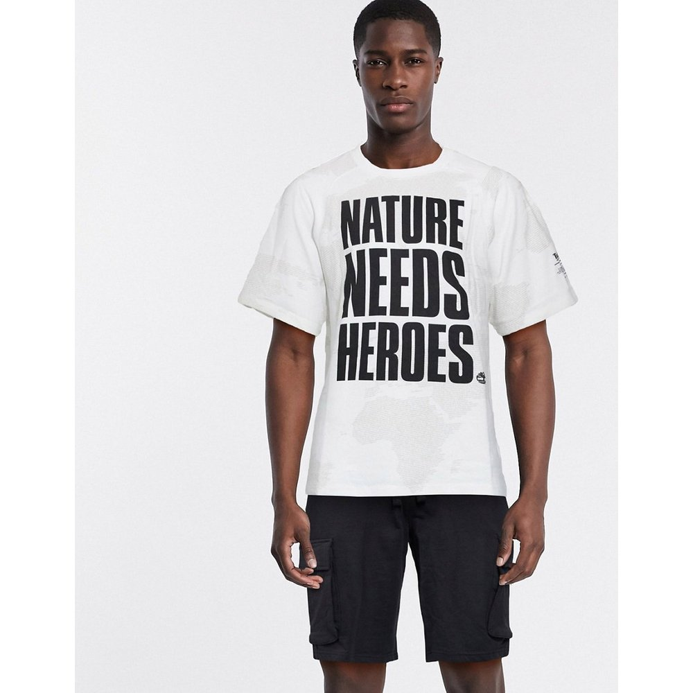 T-shirt oversize à message - Timberland - Modalova