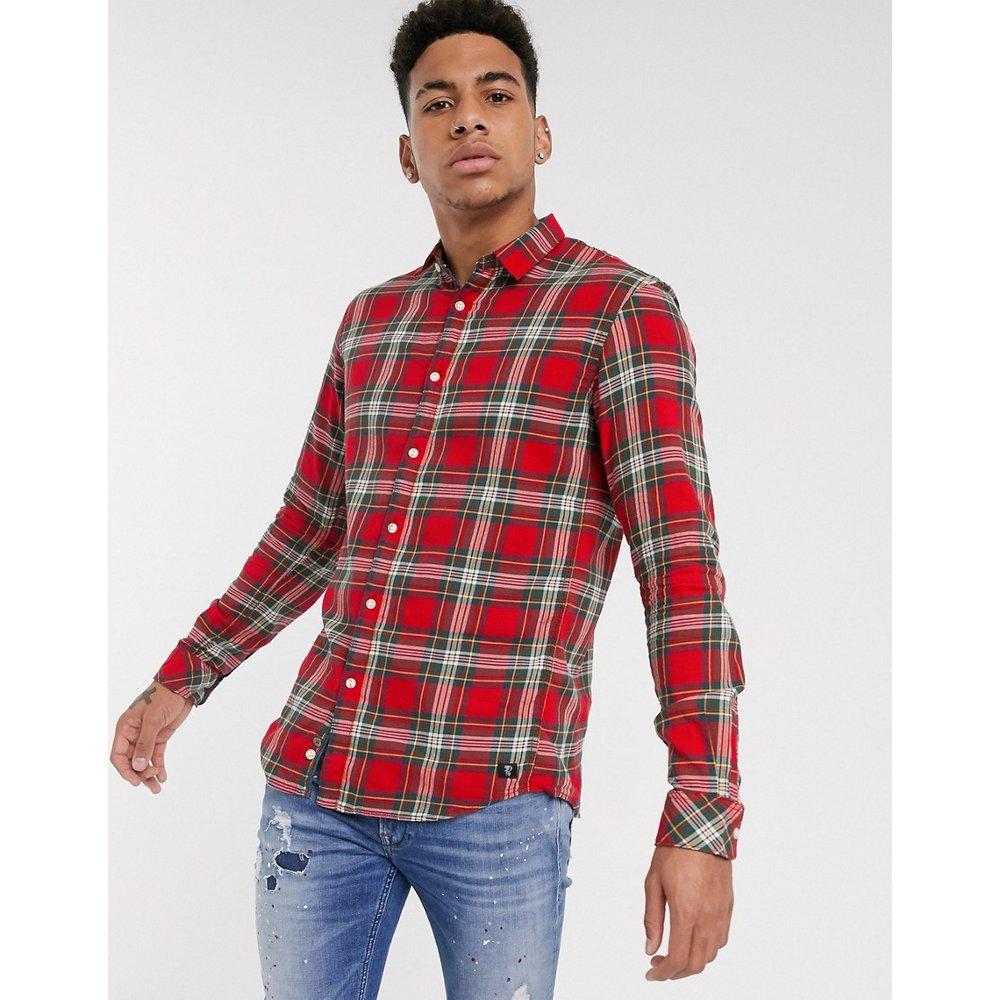 Chemise à carreaux écossais - Tom Tailor - Modalova