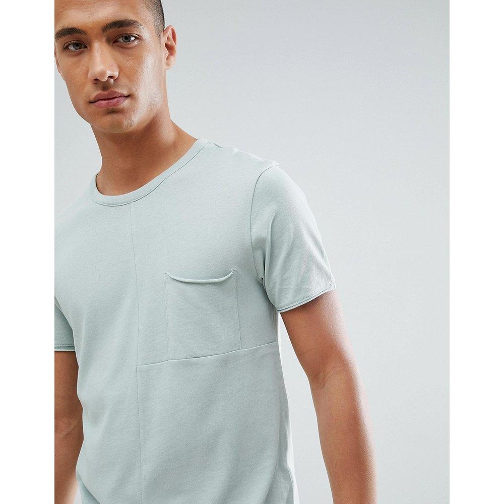 T-shirt coupé-cousu avec poche sur la poitrine - Tom Tailor - Modalova