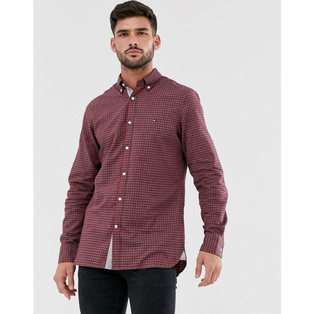Chemise à carreaux vichy coupe slim - Tommy Hilfiger - Modalova