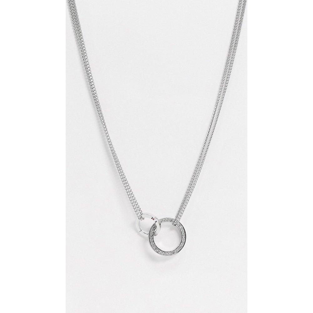 Collier avec pendentif anneaux - Tommy Hilfiger - Modalova
