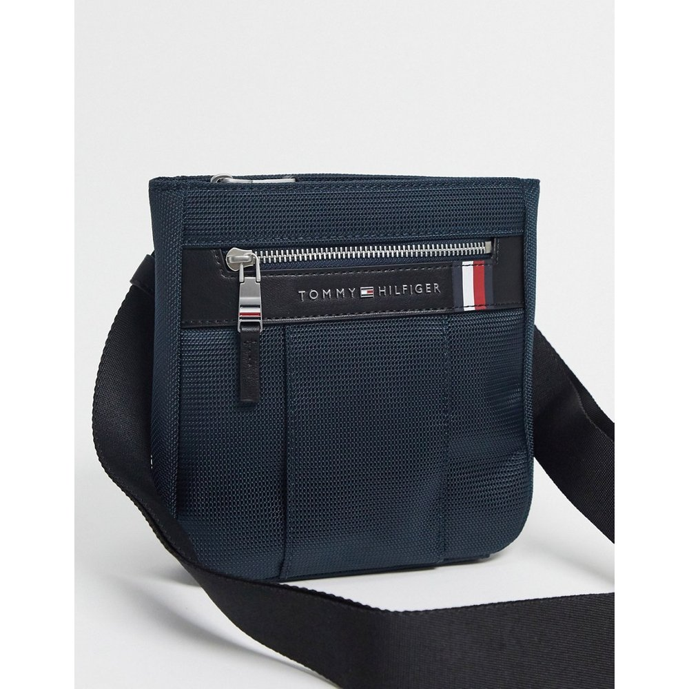 Elevated - Petit sac bandoulière en nylon - Tommy Hilfiger - Modalova