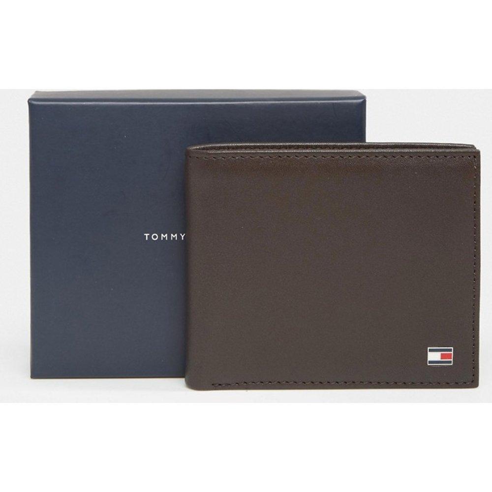 Eton - Petit portefeuille en cuir à deux volets - Tommy Hilfiger - Modalova