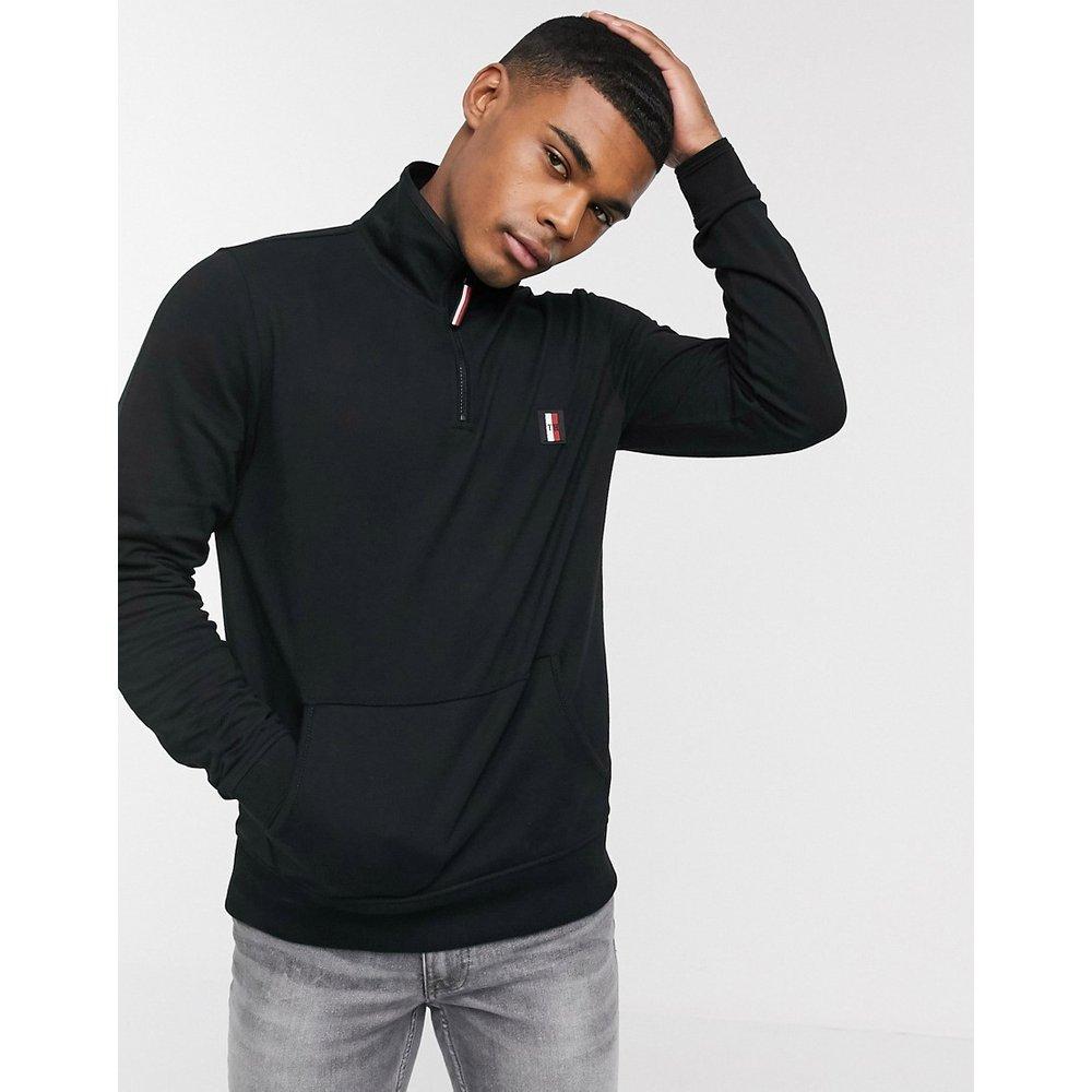 Flex - Sweat-shirt à col montant zippé avec logo emblématique - Tommy Hilfiger - Modalova