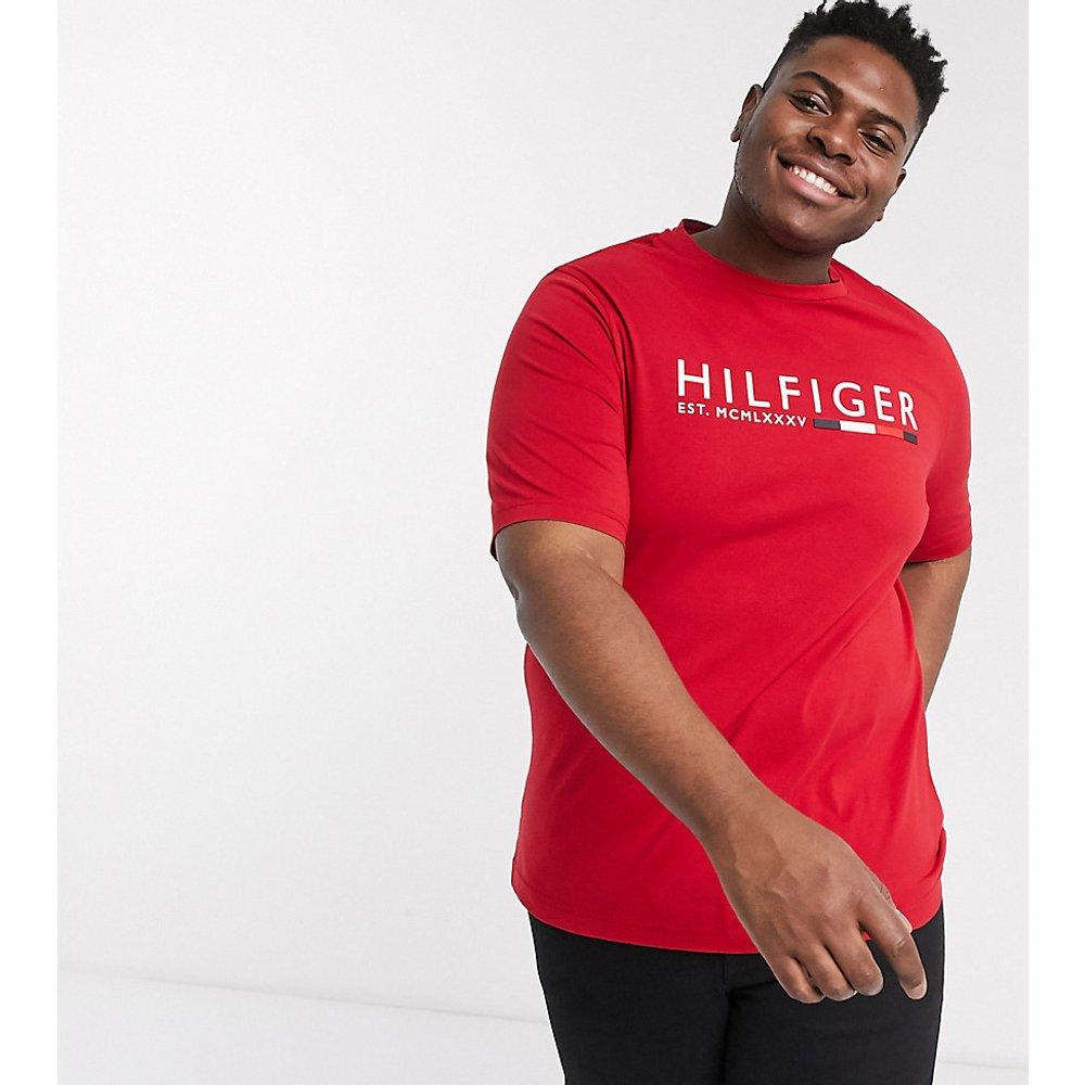 Icon Colourblock Capsule Big & Tall - T-shirt à logo emblématique - Tommy Hilfiger - Modalova