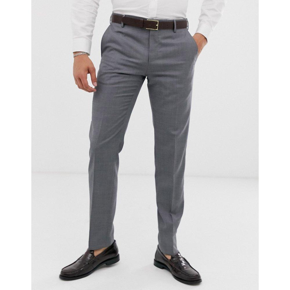 Pantalon de costume slim uni - Tommy Hilfiger - Modalova
