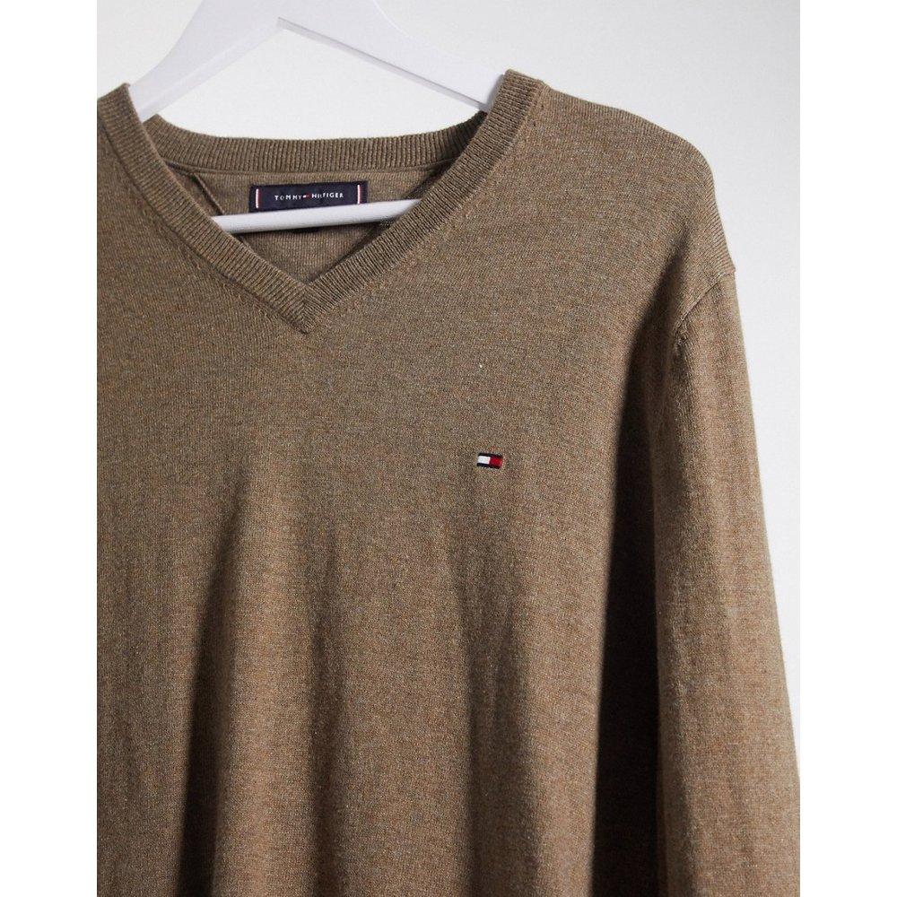 Pull en laine de coton stretch - Tommy Hilfiger - Modalova