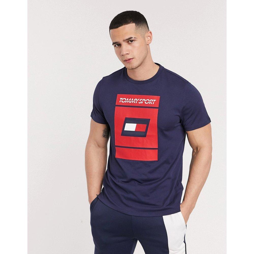Sport - T-shirt à motif graphique - Tommy Hilfiger - Modalova