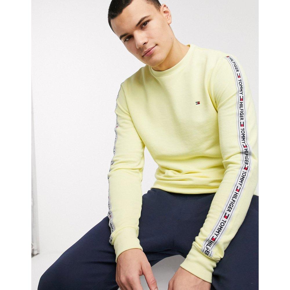 Sweat-shirt confort authentique à bandes - Tommy Hilfiger - Modalova