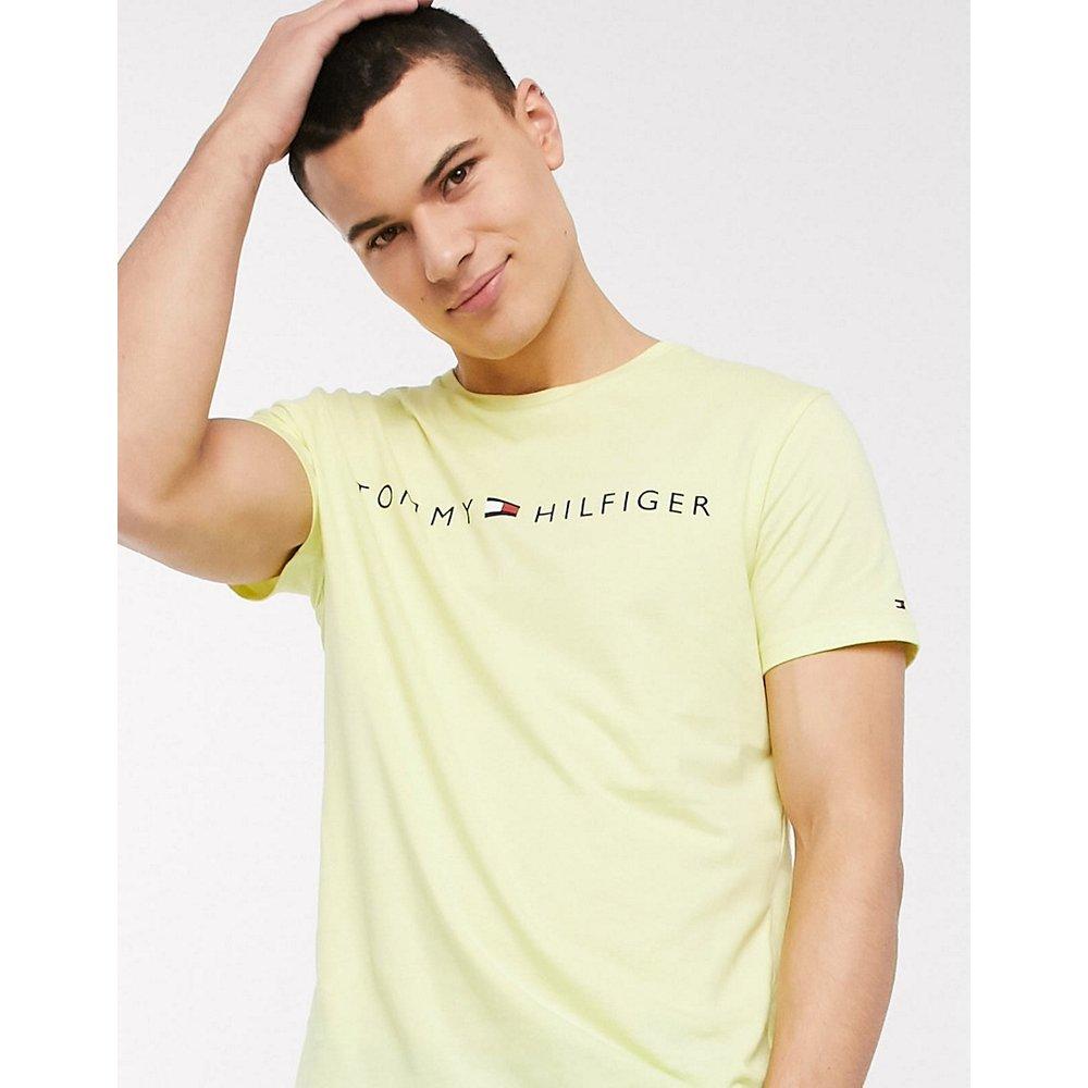 T-shirt confort avec logo sur le devant - Tommy Hilfiger - Modalova