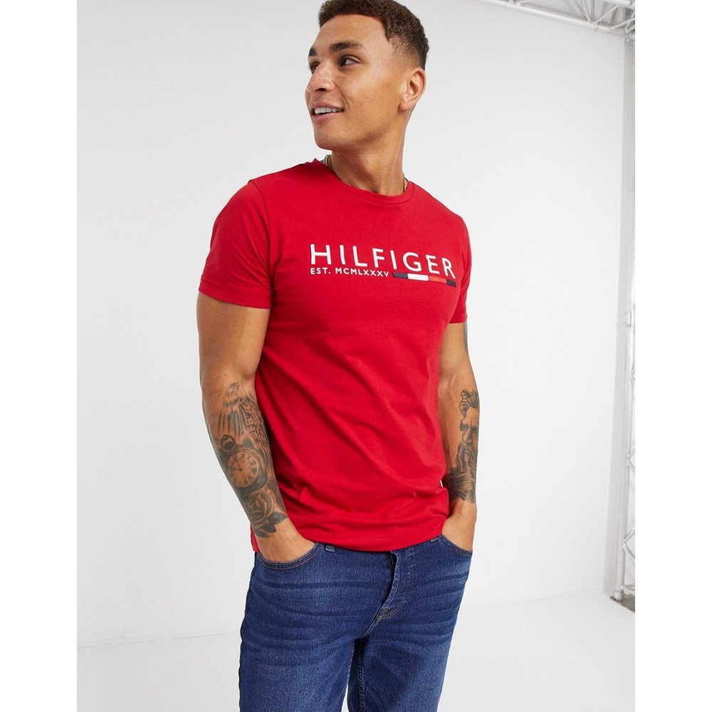 T-shirt rayé - Tommy Hilfiger - Modalova